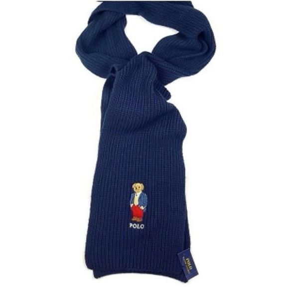 15ec8c3c ... where can i buy polo ralph lauren preppy business teddy bear scarf  41bcf be11b ...